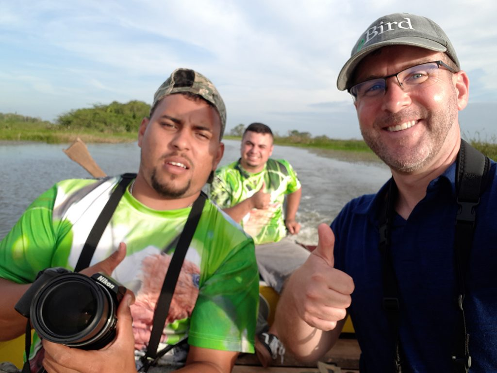"Birding with ""Chambita"" Romero in the Medio Queso Wetlands"