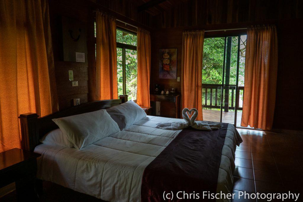 Room at Las Heliconias Rainforest Lodge, Bijagua, Costa Rica